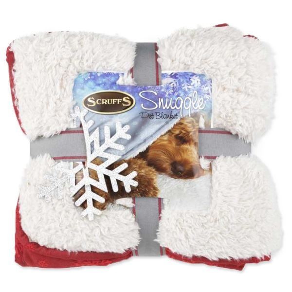 Deka Scruffs Snuggle Blanket Winter 110x75cm mix barev