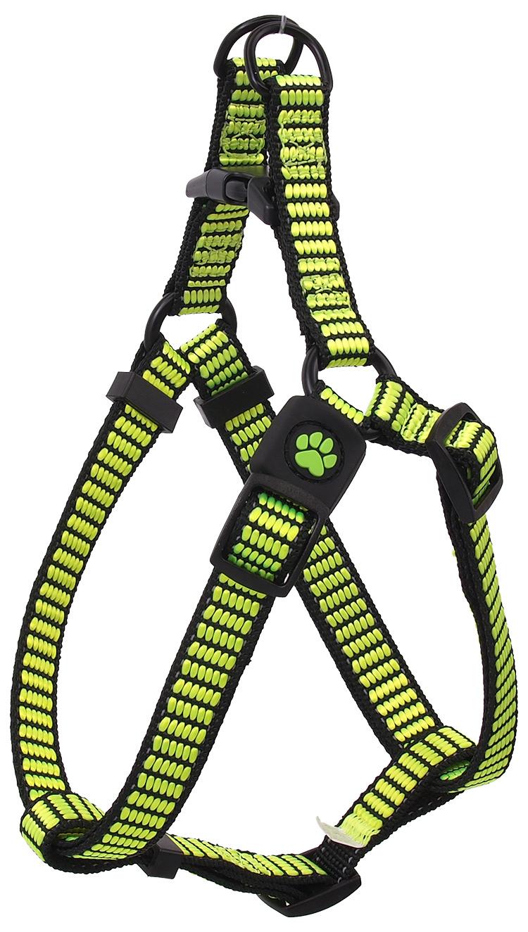 Postroj Active Dog Premium XS limetka 1x32-44cm