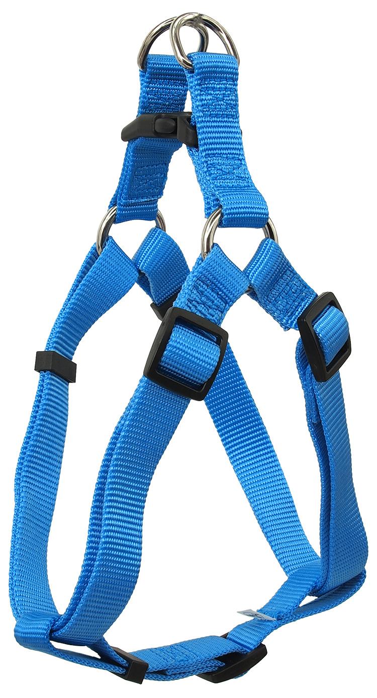 Postroj Dog Fantasy Classic XL modrý 3,8x75-110cm