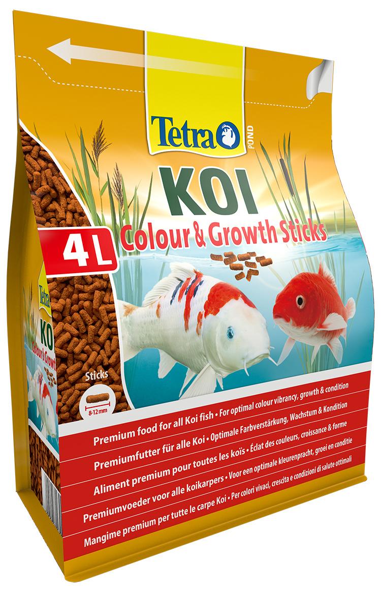 TETRA Pond Koi Sticks Growth&Color 4l