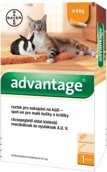 Advantage 40mg spot-on 1x 0,4ml