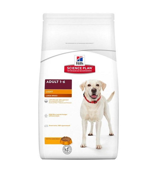 HILL`S Science Plan Canine Adult Large Breed Light 12kg