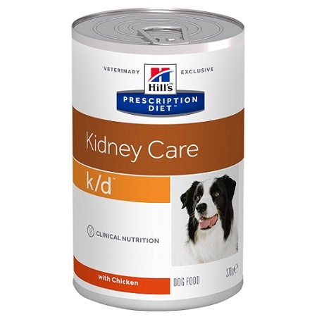 HILL`S Prescription Diet Canine kd konzerva 370g