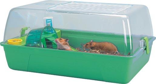 Box SAVIC Rody Hamster zelený