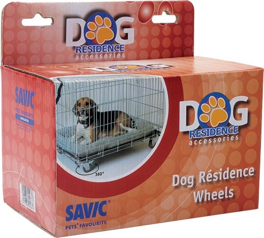 Kolečka SAVIC Dog Residence 4ks