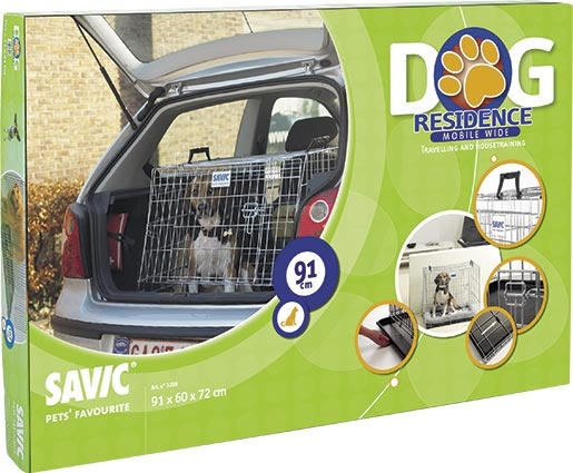 Klec SAVIC Dog Residence mobil 91 x 60 x 72 cm