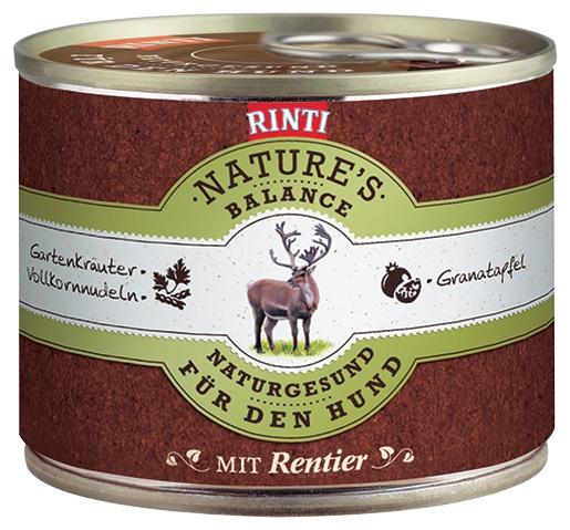Konzerva RINTI Nature's Balance sob + těstoviny + vejce 185g
