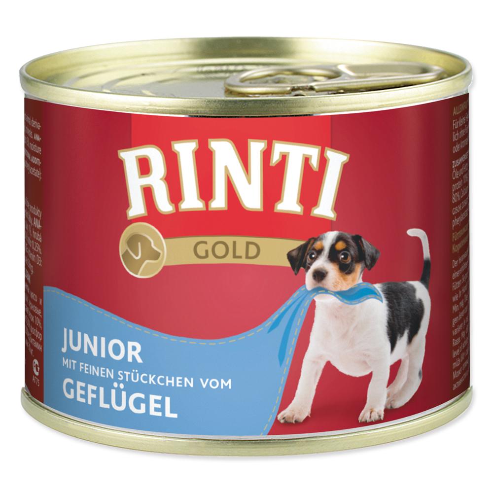 Konzerva RINTI Gold junior drůbeží 185g