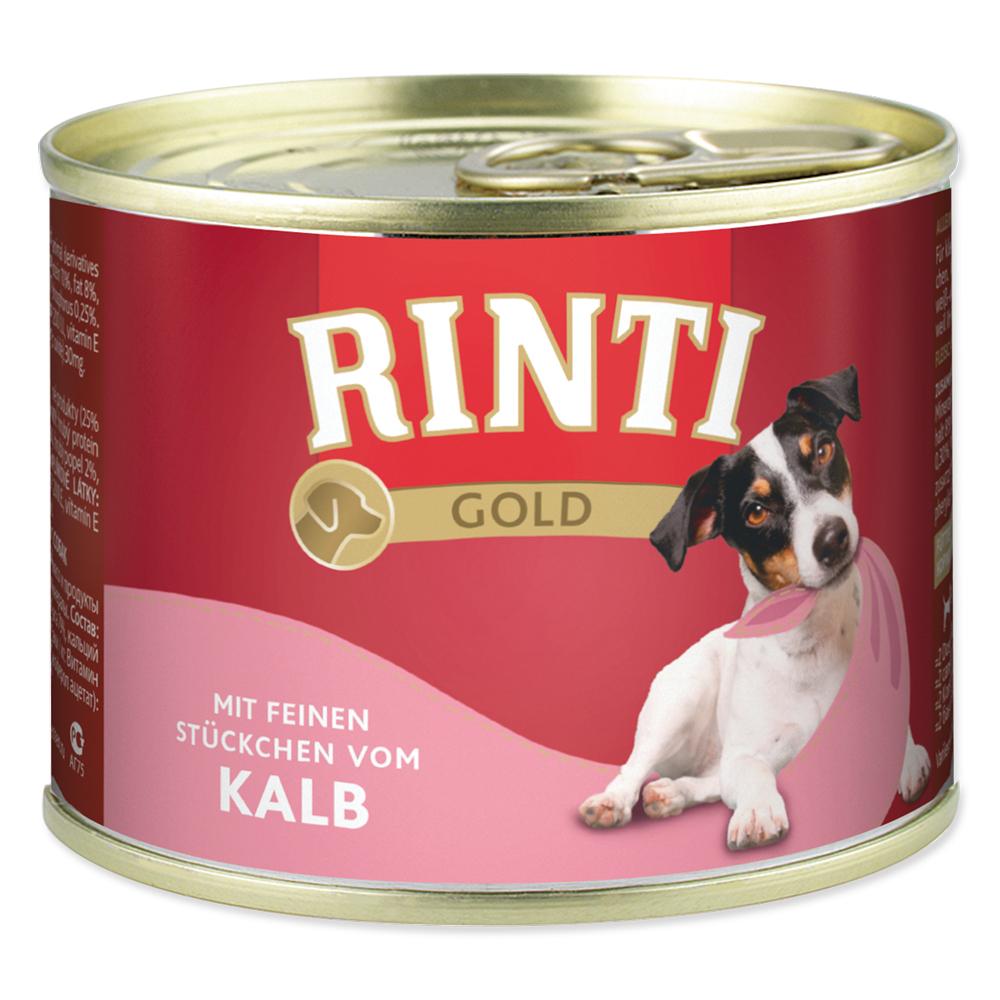 Konzerva RINTI Gold telecí 185g