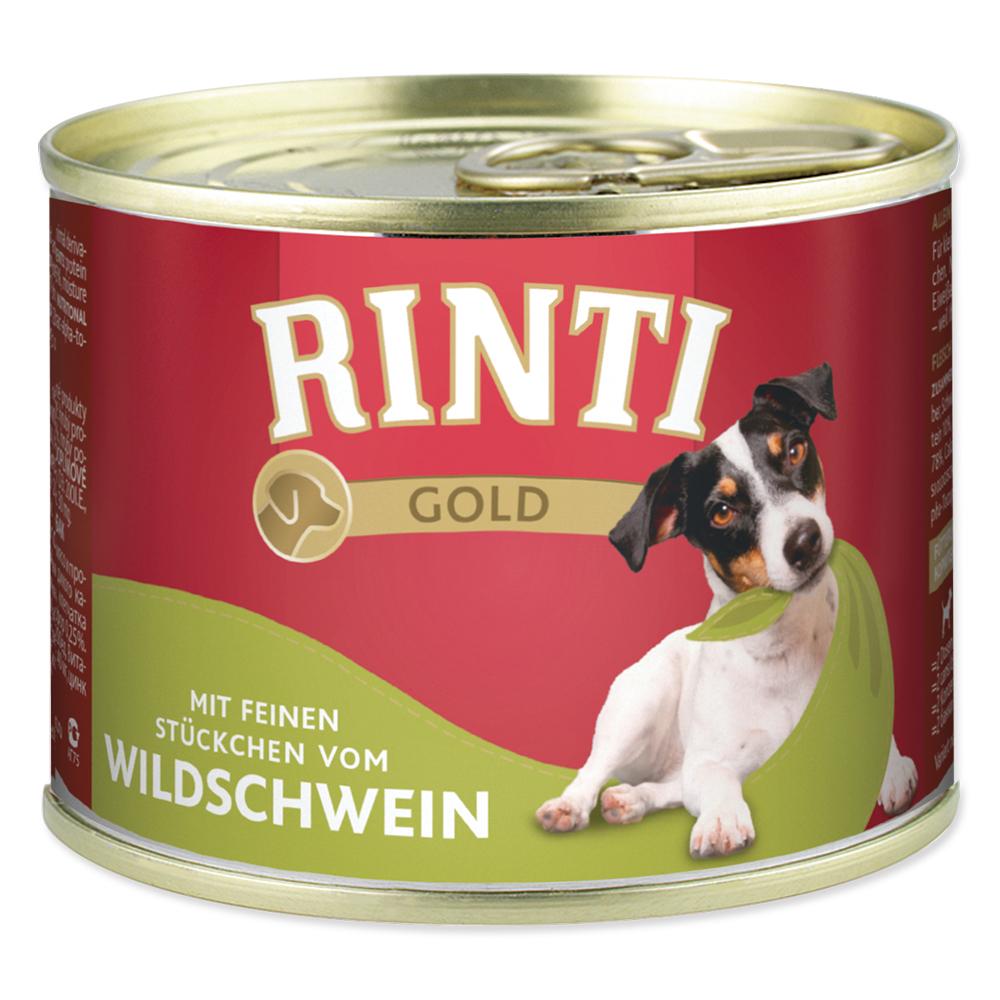 Konzerva RINTI Gold divočák 185g