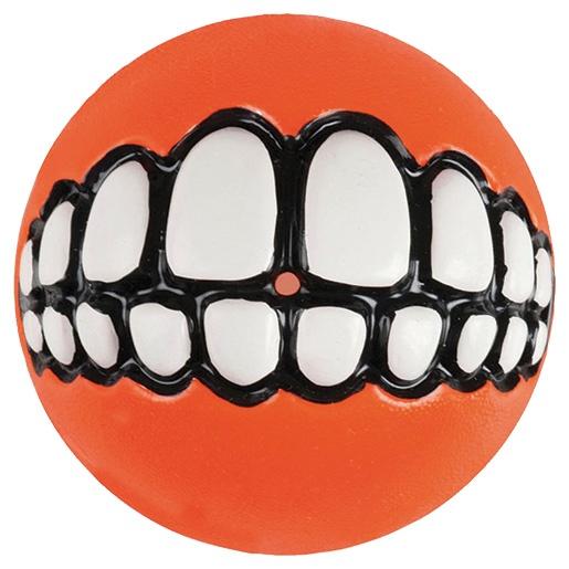 Hračka ROGZ míček Grinz oranžový L