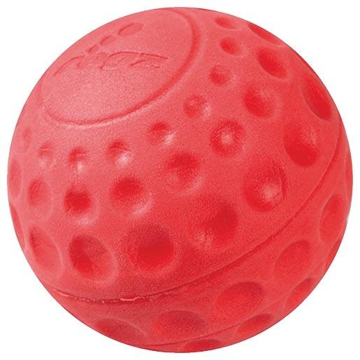 Hračka ROGZ míček Asteroid červený L