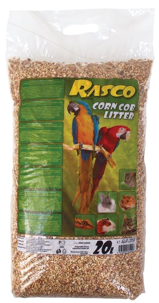 Podestýlka Rasco kukuřičná hrubá 20l