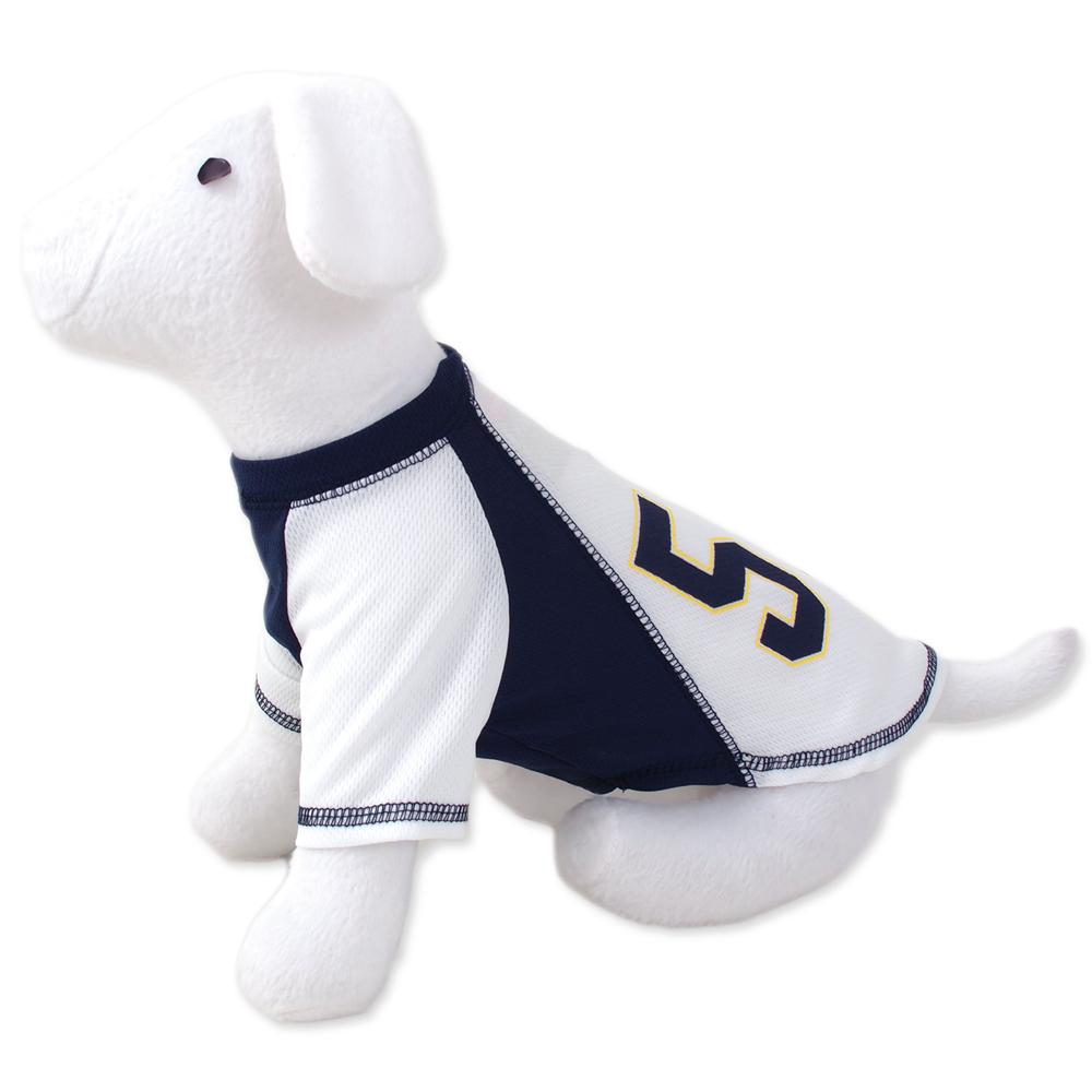 Triko DOG FANTASY sport 57 bílo-modré S/M
