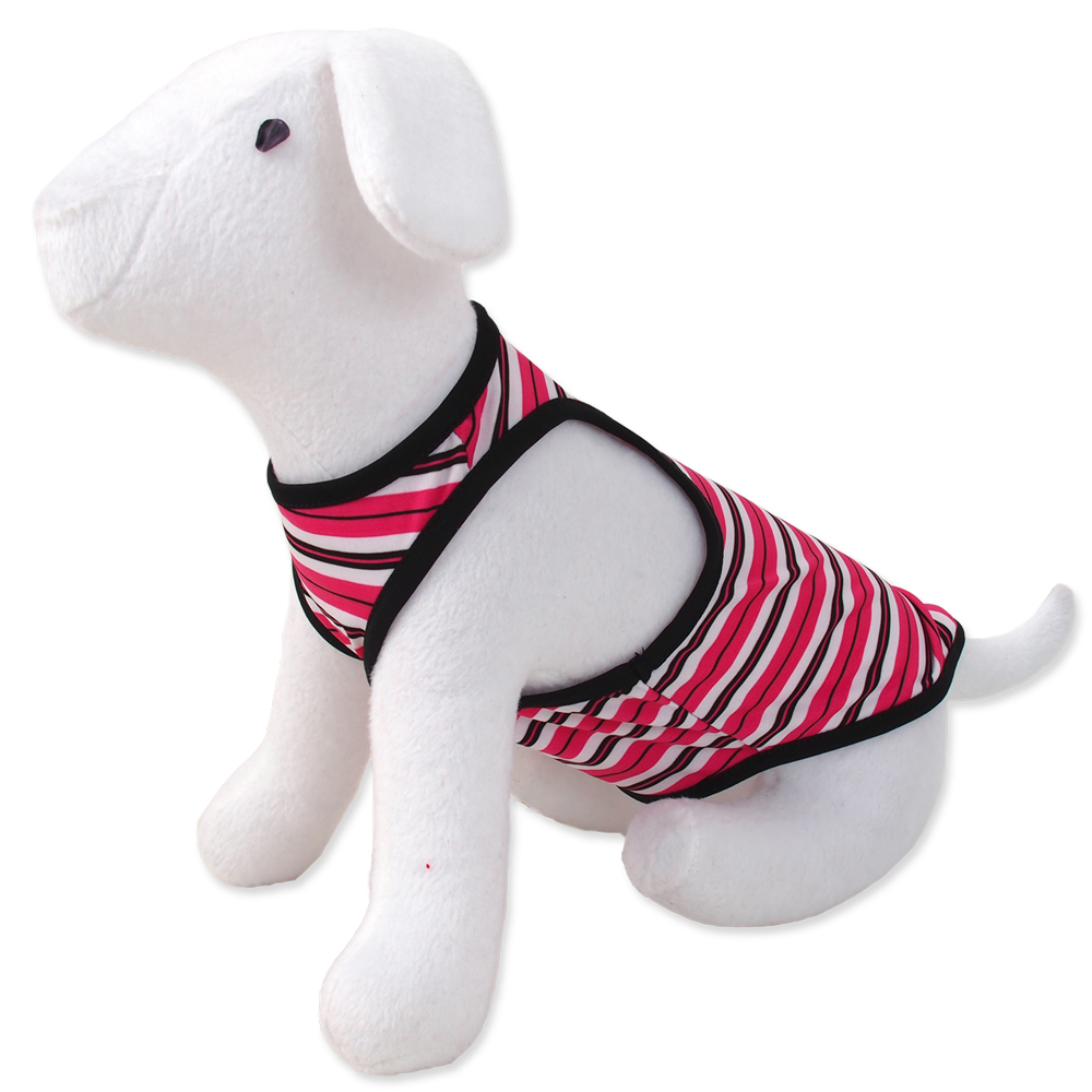 Šaty DOG FANTASY summer proužkované S