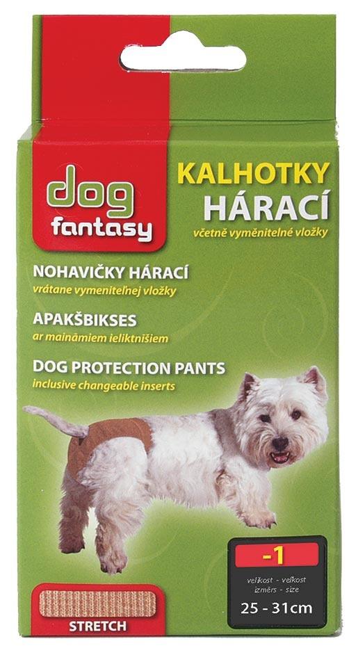Kalhotky DOG FANTASY hárací béžové XS