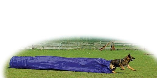 Pytel - Tunel DOG FANTASY Agility modrý