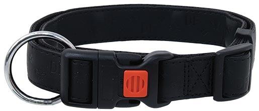 Obojek DOG FANTASY Classic černý 40 - 55cm