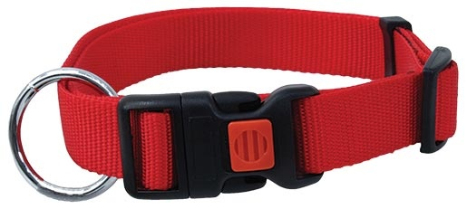 Obojek DOG FANTASY červený 30 - 45 cm
