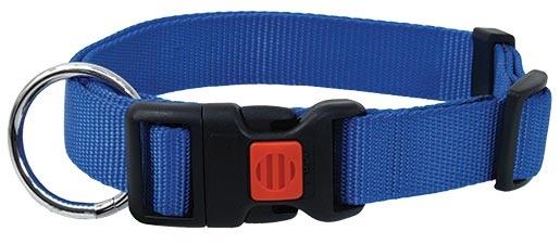 Obojek DOG FANTASY modrý 30 - 45 cm