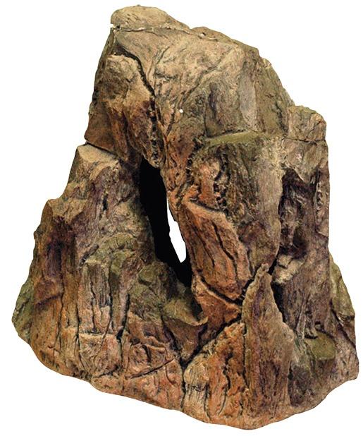Dekorace AQUA EXCELLENT skalka 30 x 17 x 32 cm