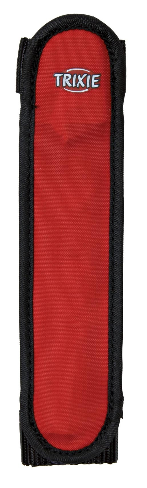 Návlek blikající na obojek pro psy Trixie 16cm červeno-černý