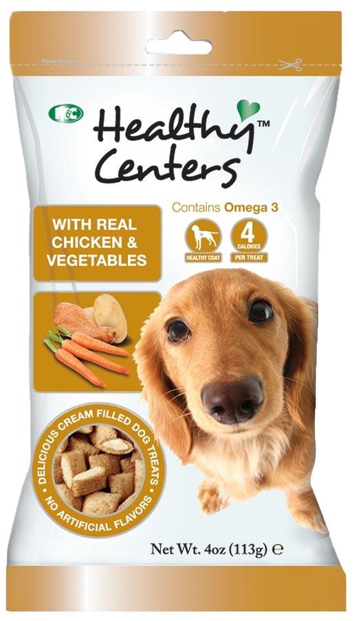 Pochoutka HEALTHY CENTERS kuře a zelenina 113g