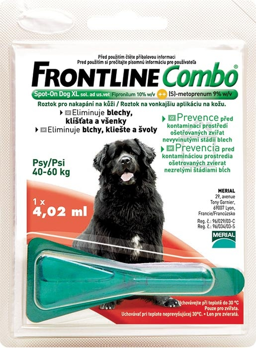 Frontline Combo Spot-on Dog obří