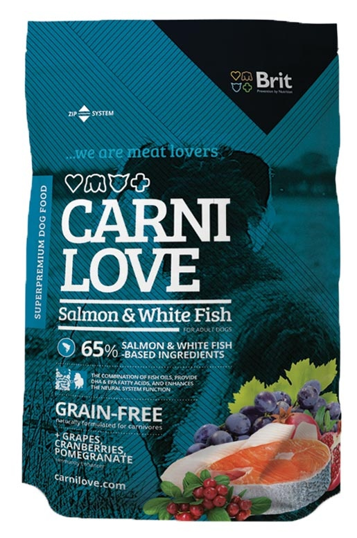 CARNILOVE Salmon and White Fish 1,5kg