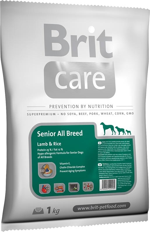 BRIT Care Senior All Breed Lamb & Rice 1kg