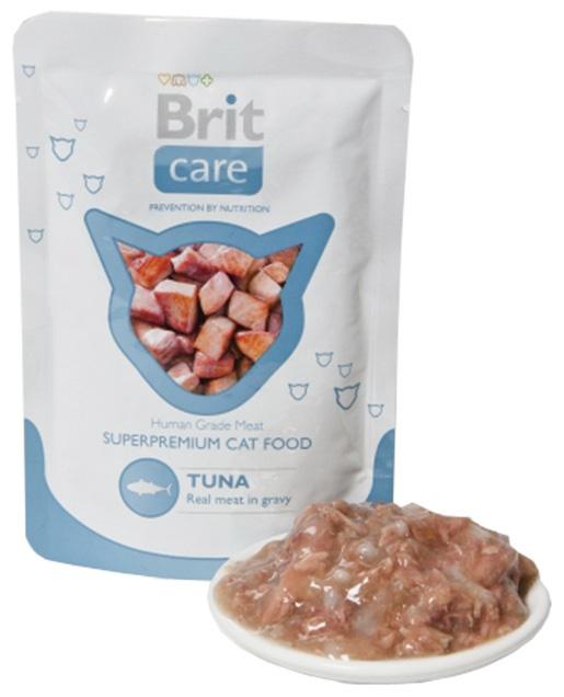 Kapsička BRIT Care Cat Pouches Tuna 80g