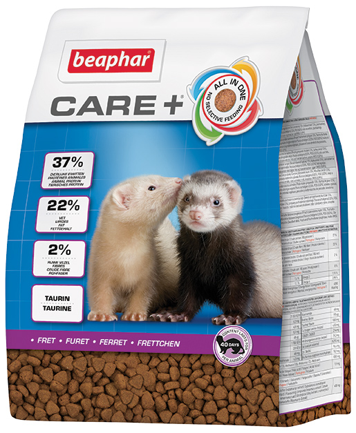 Beaphar Krmivo CARE + fretka 2kg