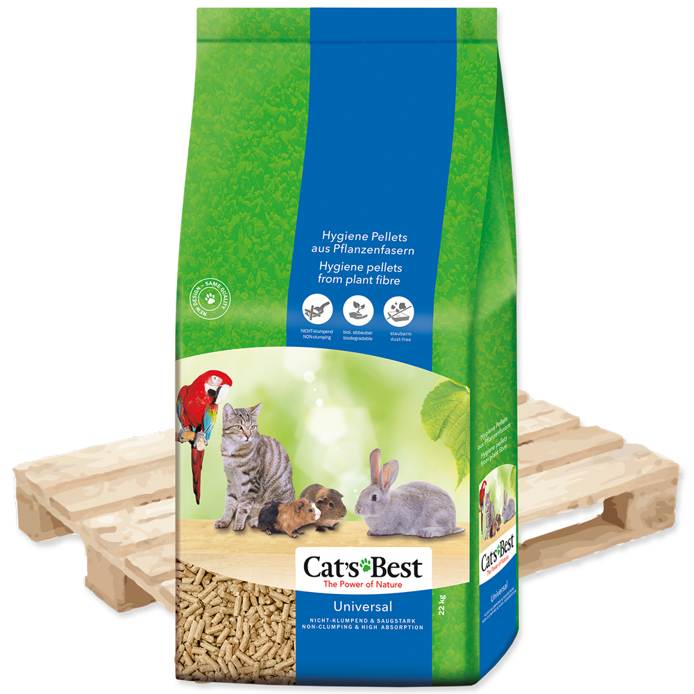 Cat´s Best Universal Kočkolit JRS Cats Best Universal 40l