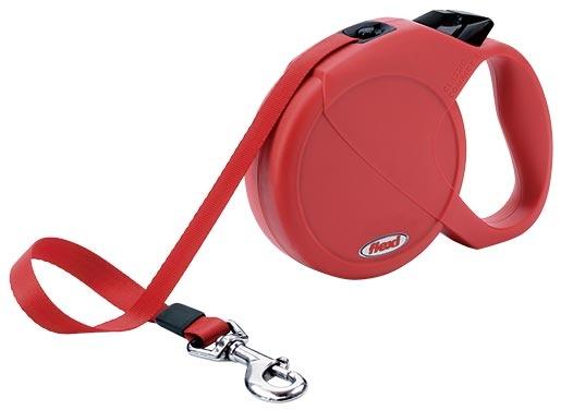 Vodítko FLEXI Compact 3 červené