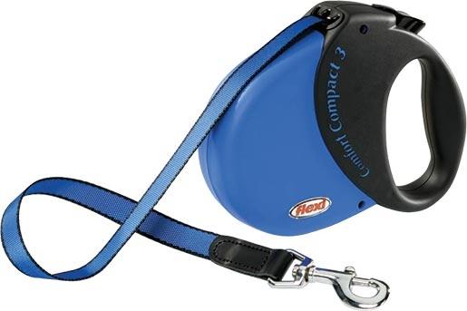 Vodítko FLEXI Comfort Compact 3 modré
