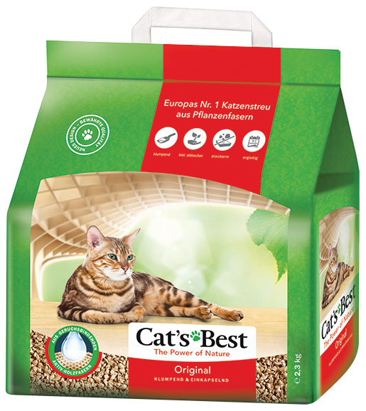 Cat´s Best ÖkoPlus Kočkolit JRS Cats Best ÖkoPlus 5l