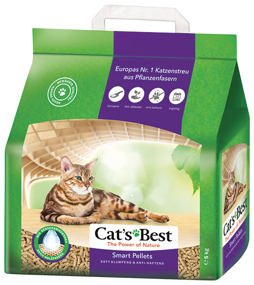 Kočkolit JRS Cats Best Nature Gold 10l