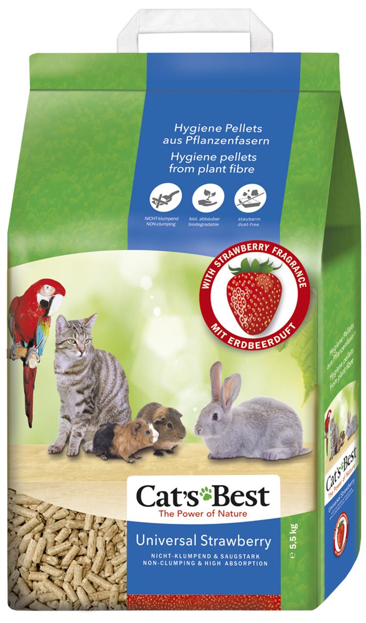 Cat´s Best Universal Kočkolit JRS Cats Best Universal s jahodovou vůní 10l