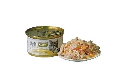BRIT Care Chicken Breast & Cheese 80g