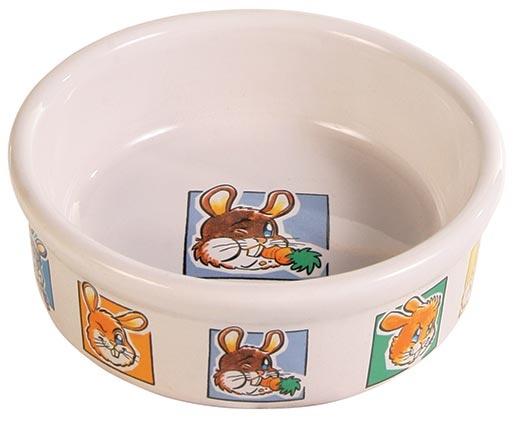 Miska keramická pro hlodavce Trixie králík 240ml*11cm