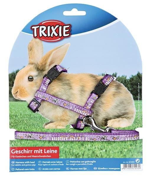 Postroj s vodítkem pro hlodavce Trixie