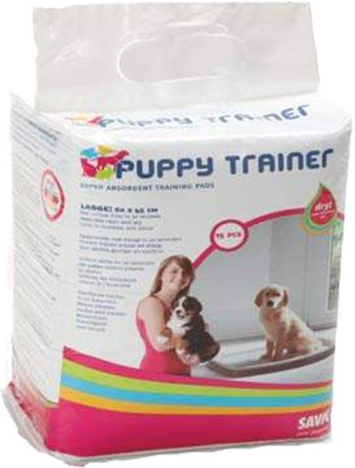 Náhradní podložky SAVIC Puppy trainer L 15ks