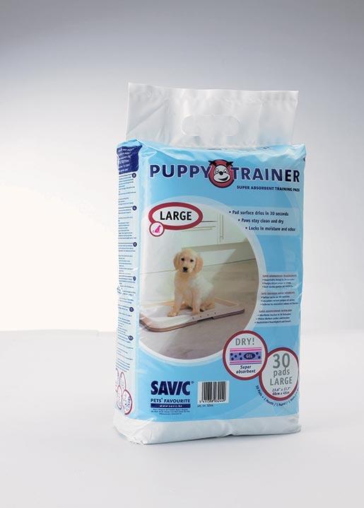 Náhradní podložky SAVIC Puppy trainer L 30ks