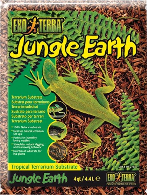 Podestýlka EXO TERRA Jungle Earth 4400ml