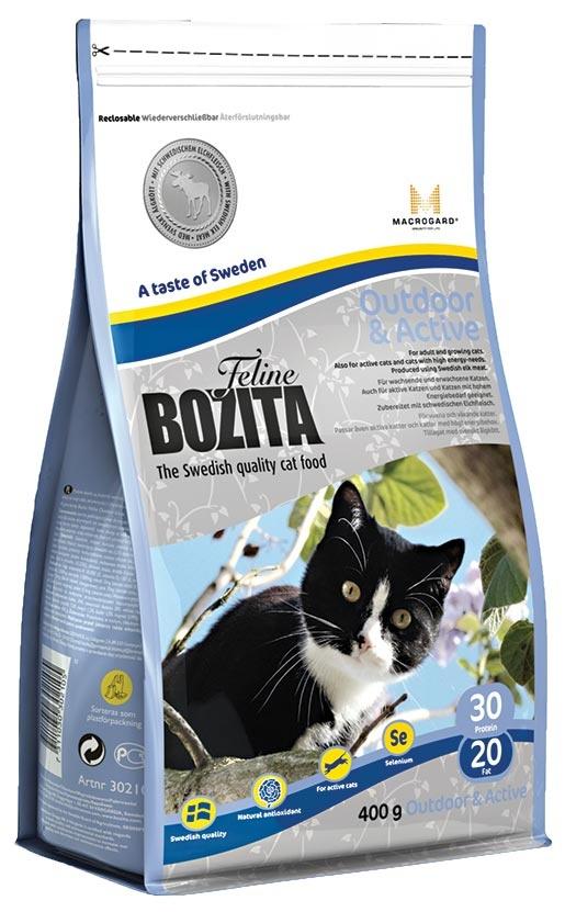 BOZITA Feline Outdoor & Active 0,4kg