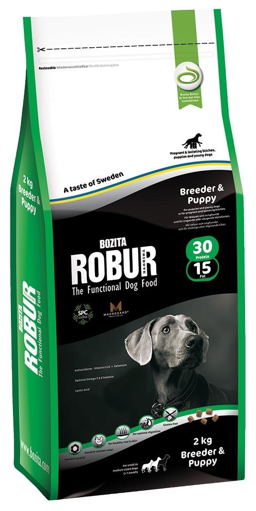 Bozita Robur Robur Breeder & Puppy 2kg