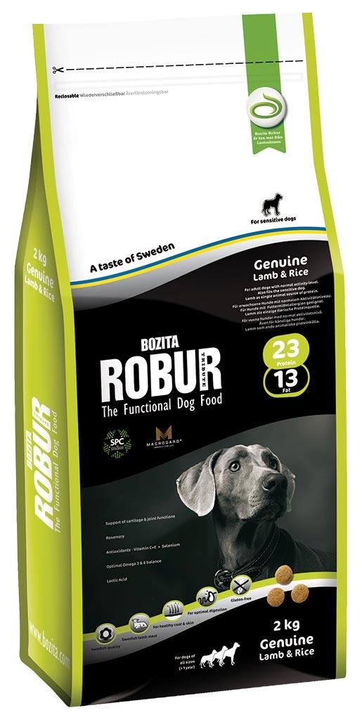 Bozita Robur ROBUR Genuine Lamb & Rice 2kg