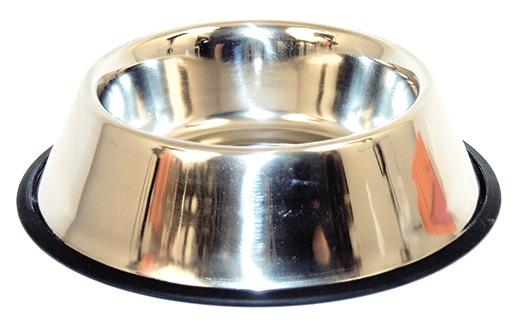 Miska DOG FANTASY nerezová s gumou 29 cm 1,8l
