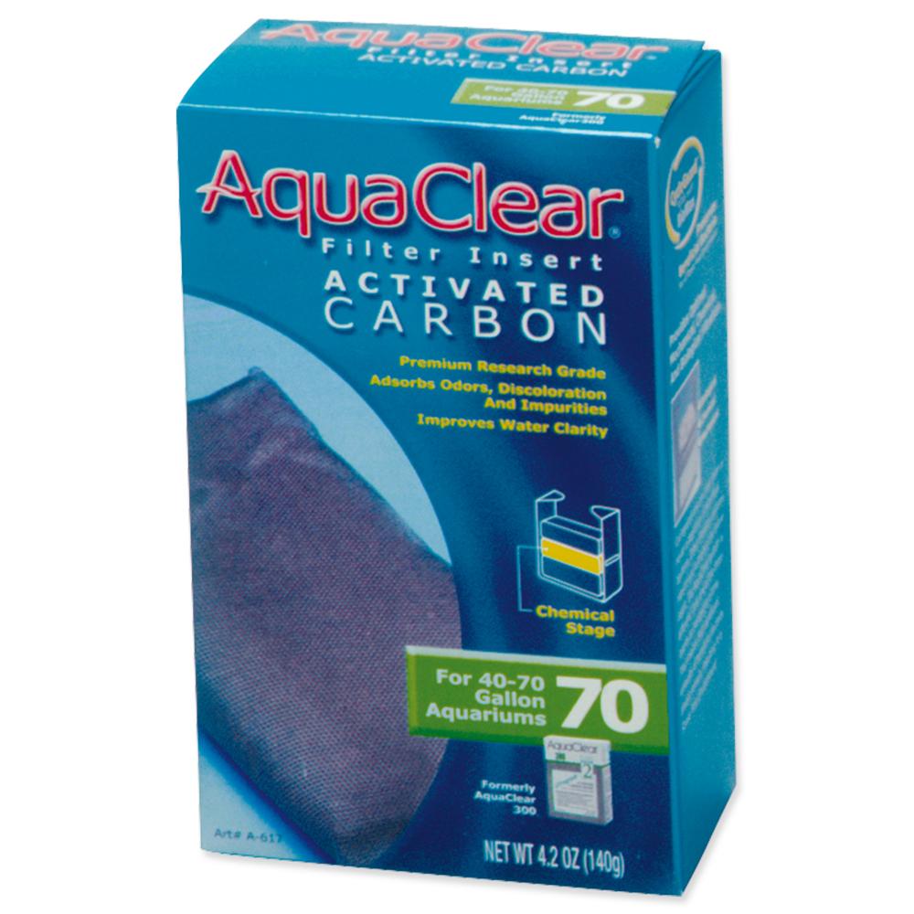 Náplň uhlí aktivní AQUA CLEAR 70 (AC 300) 140g