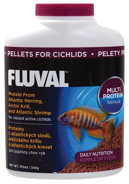FLUVAL Cichlid Pellets 750ml